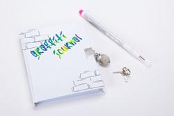 Graffiti Journal and Pen