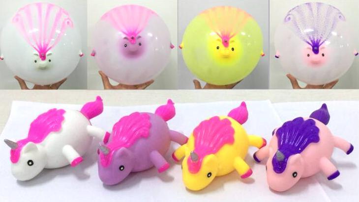 Unicorn Blowup Toy