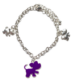 Puppy Silhouette Bracelet