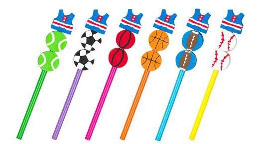 Sports Pencils