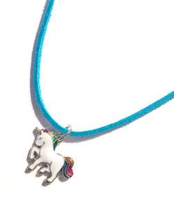 Corded Unicorn Necklace
