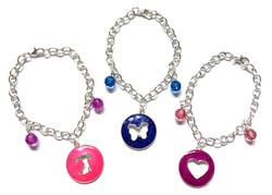 Cut-Out Charm Bracelets