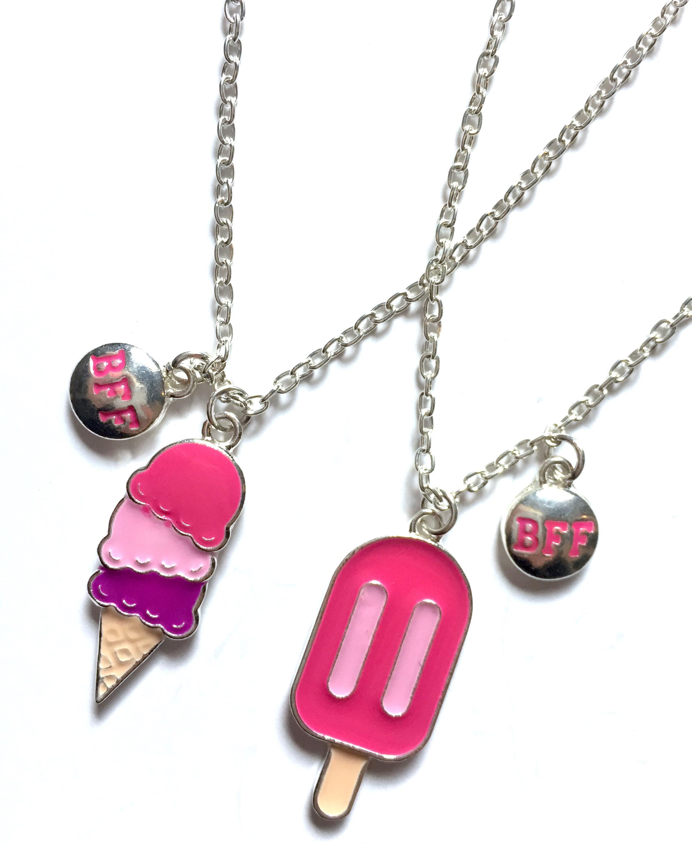 Ice Cream BFF Necklaces