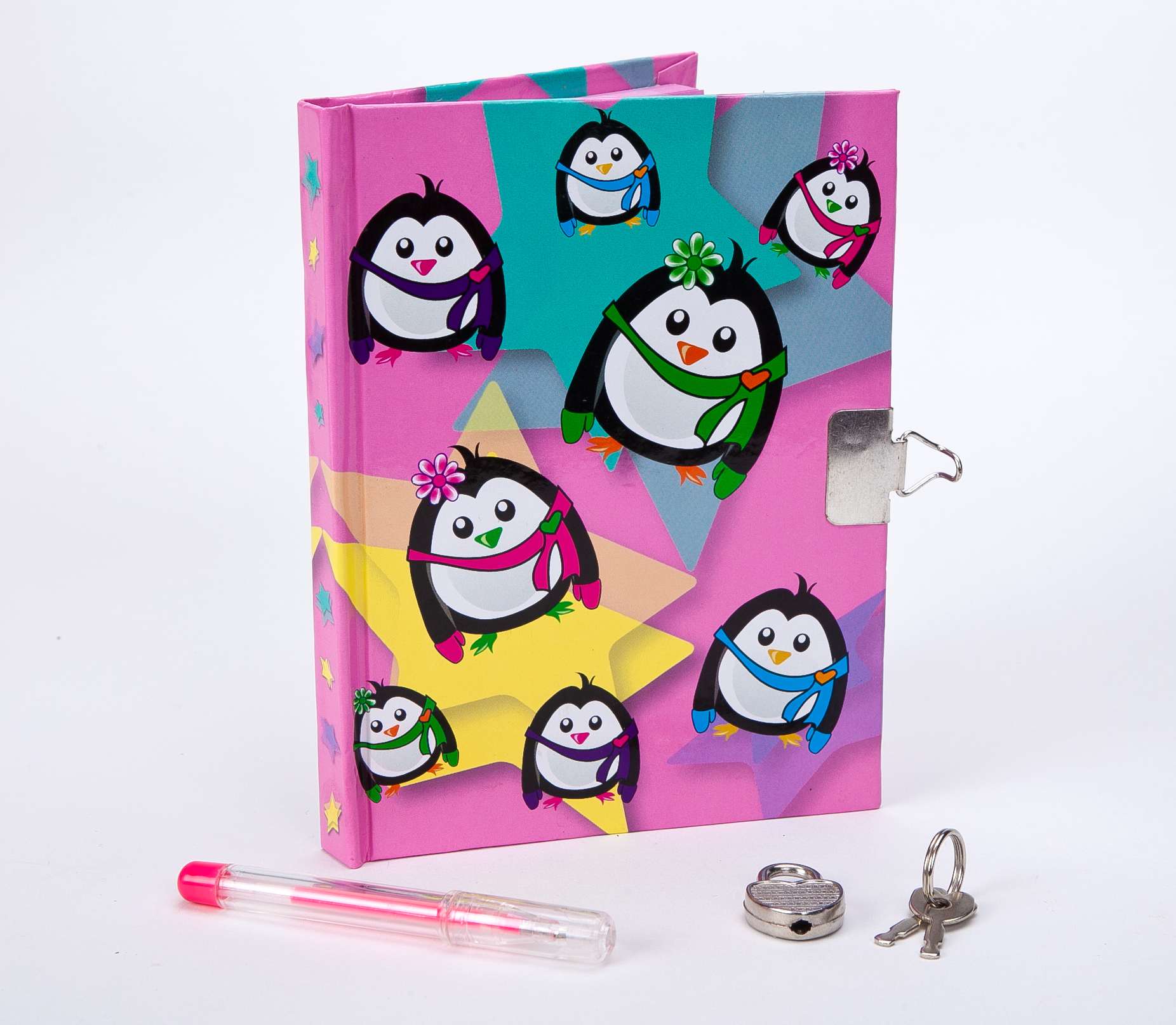 Penguin Journal and Pen