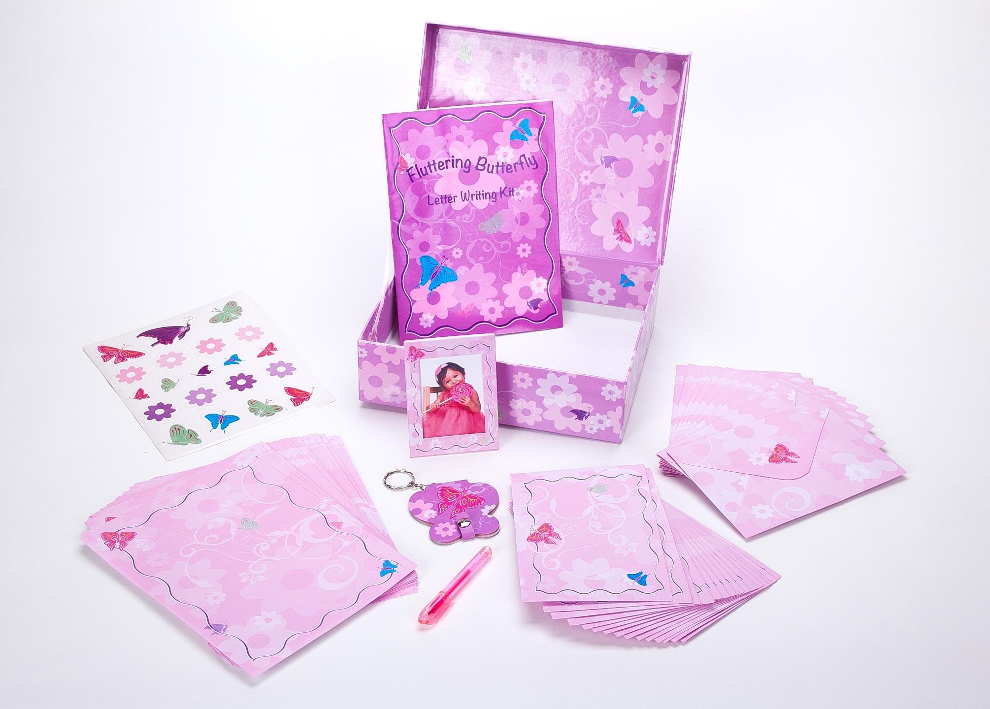 Butterfly Stationery Kit