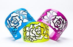 Rose Cut-Out Cuffs