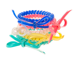 Coil Bracelets with Bow