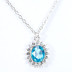 Faceted Stone Necklace