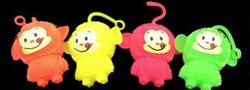Rubber Squishy Monkeys