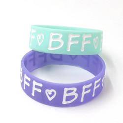 Silicone BFF Bracelets