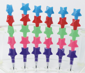 Star Stackable Pencils
