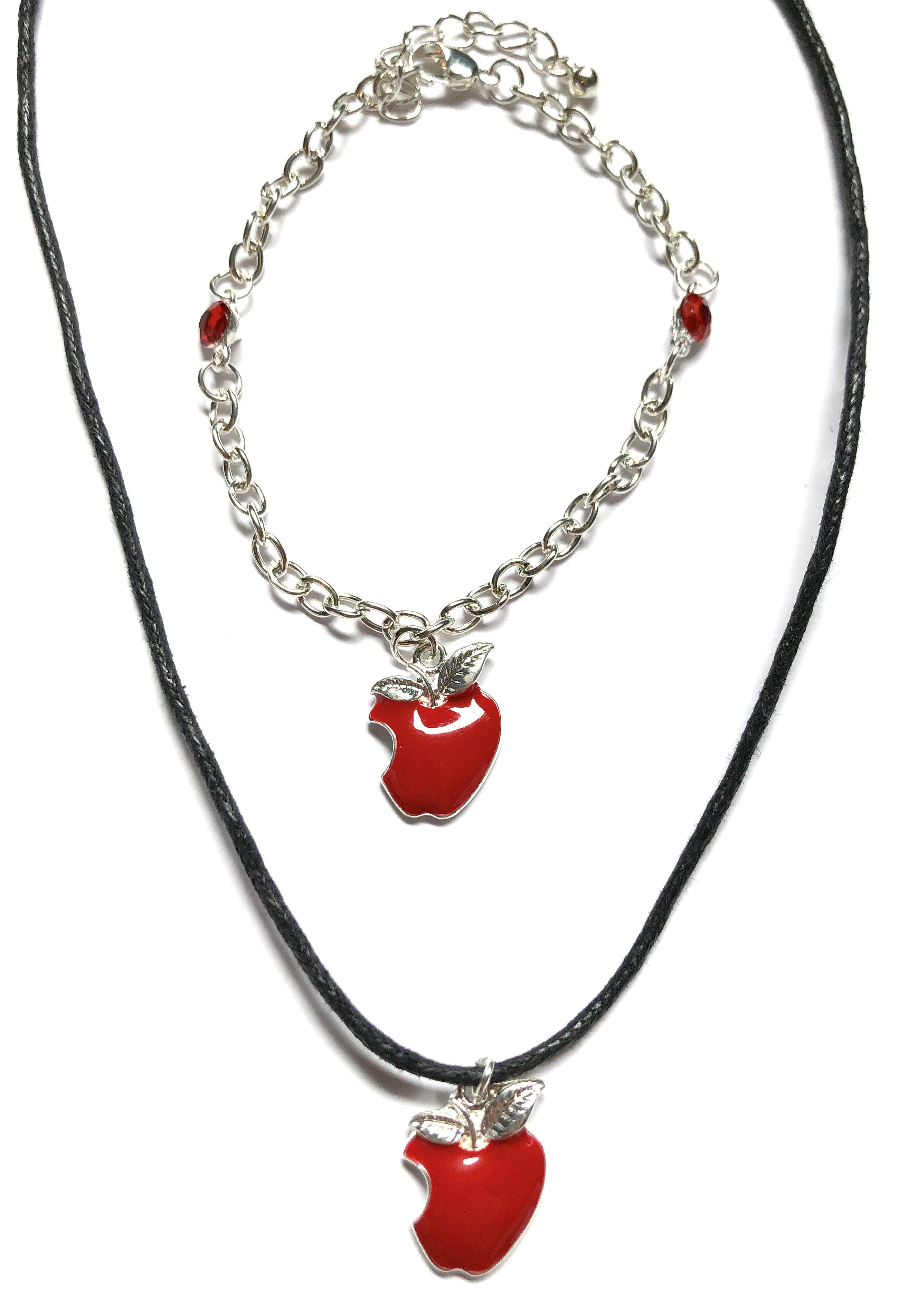 Apple Necklace & Bracelet