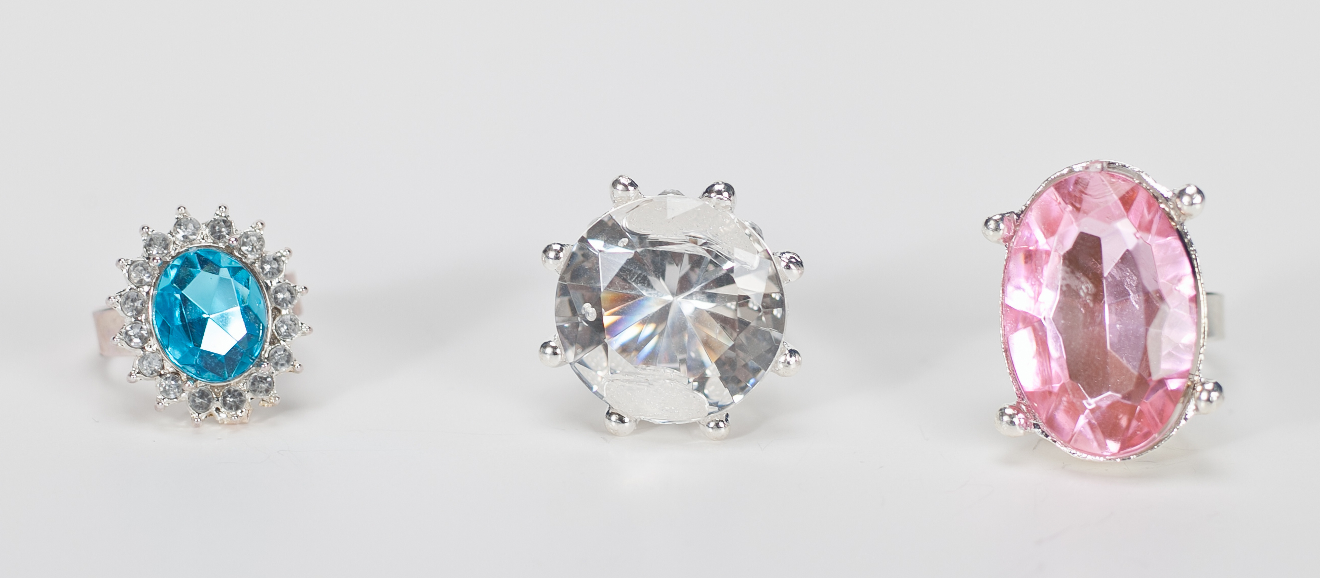 Faceted Stone Ring