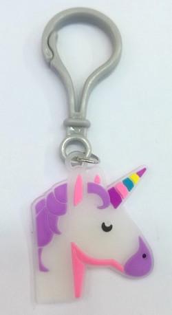Laser Cut PVC Unicorn Backpack Clip