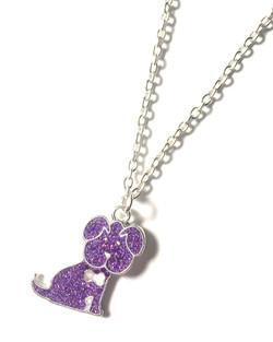 Glitter Dog Necklace