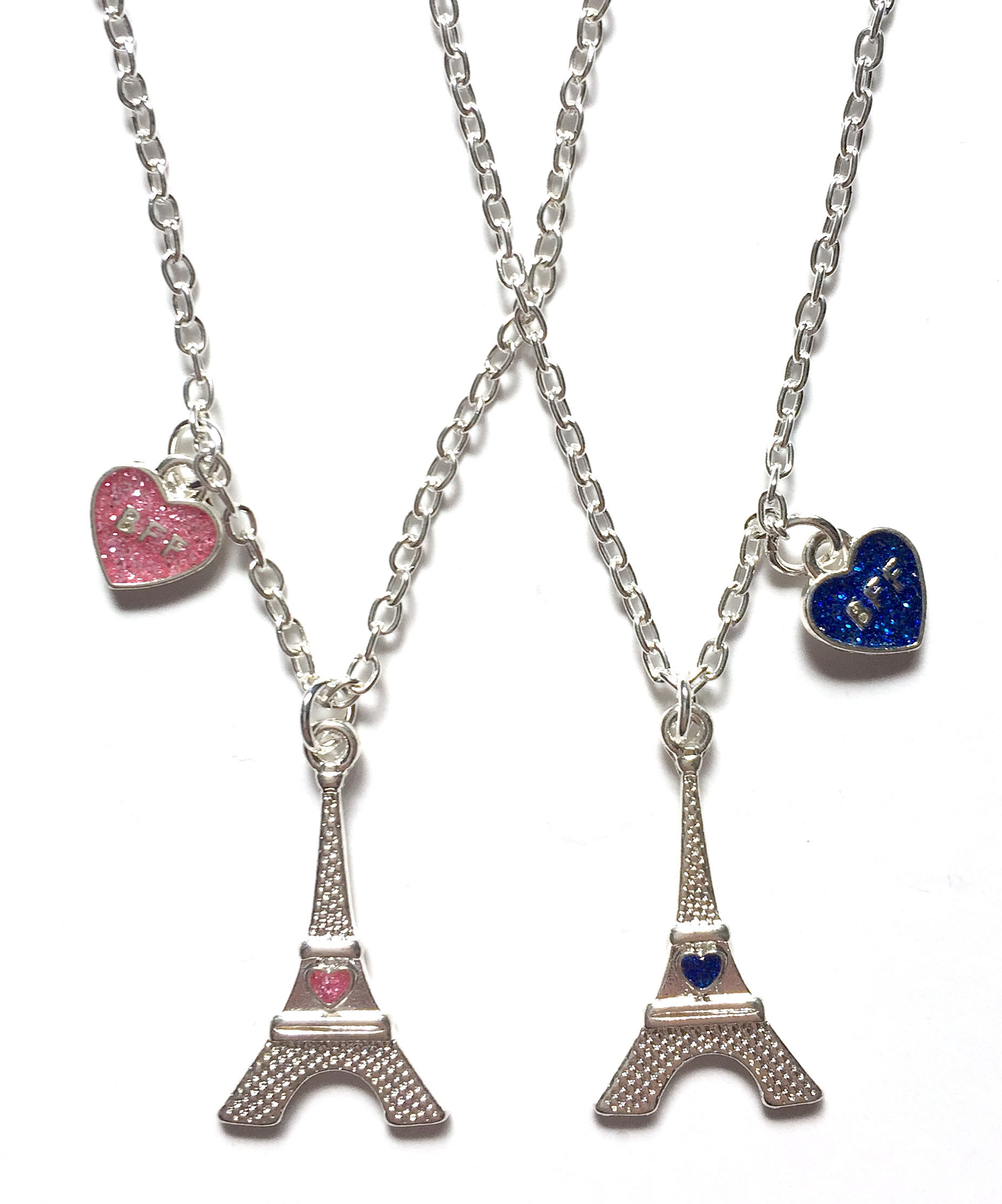 Eiffel Tower BF Necklaces