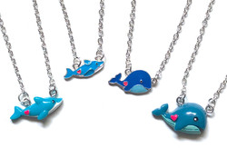 Whale + Dolphin Necklaces