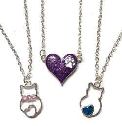 Kitten Necklaces