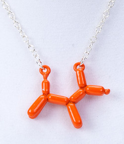 Balloon Puppy Necklace