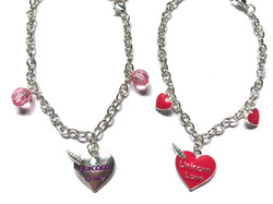 Unicorn Heart Bracelets