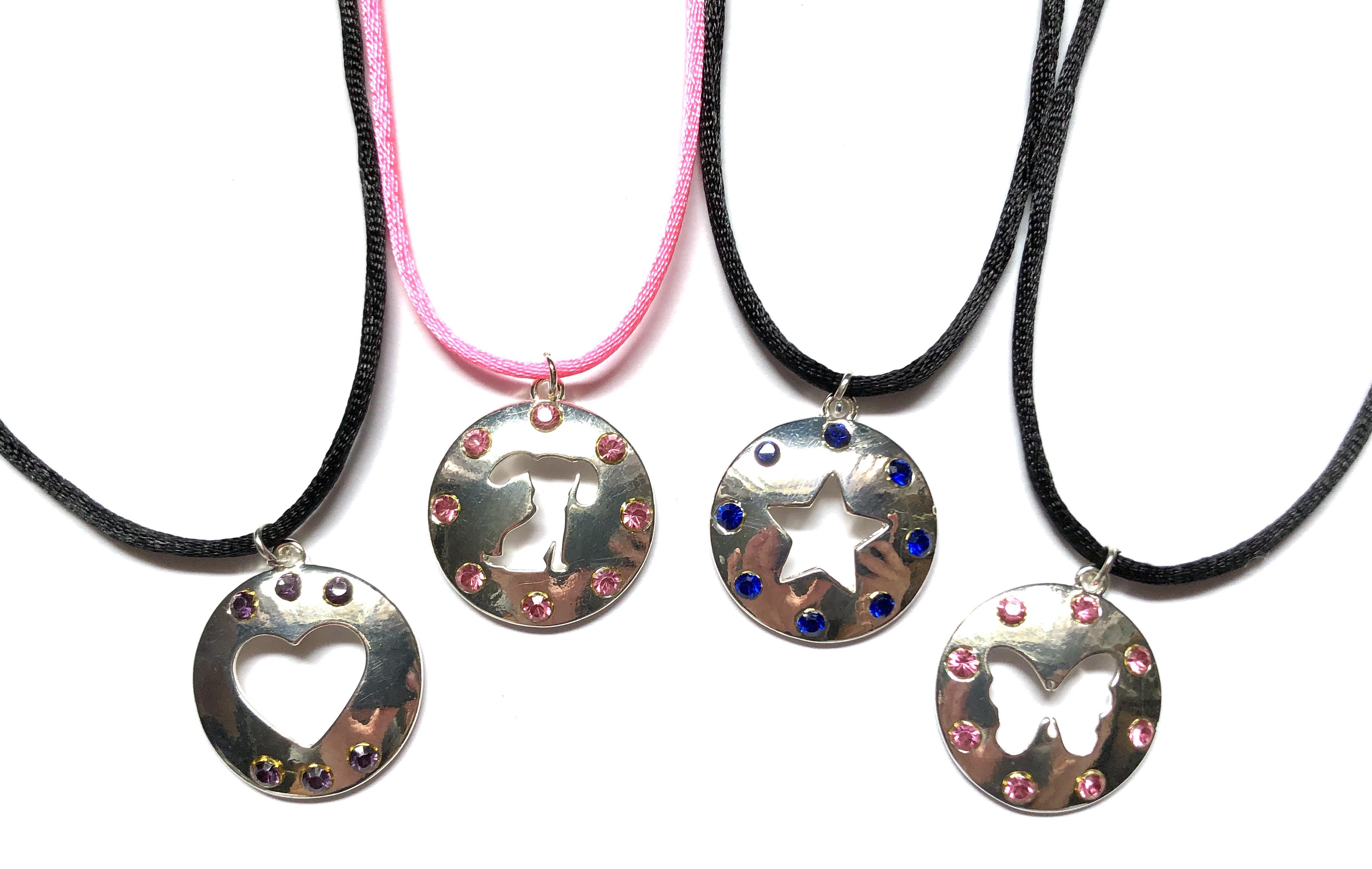Cut-Out Necklaces
