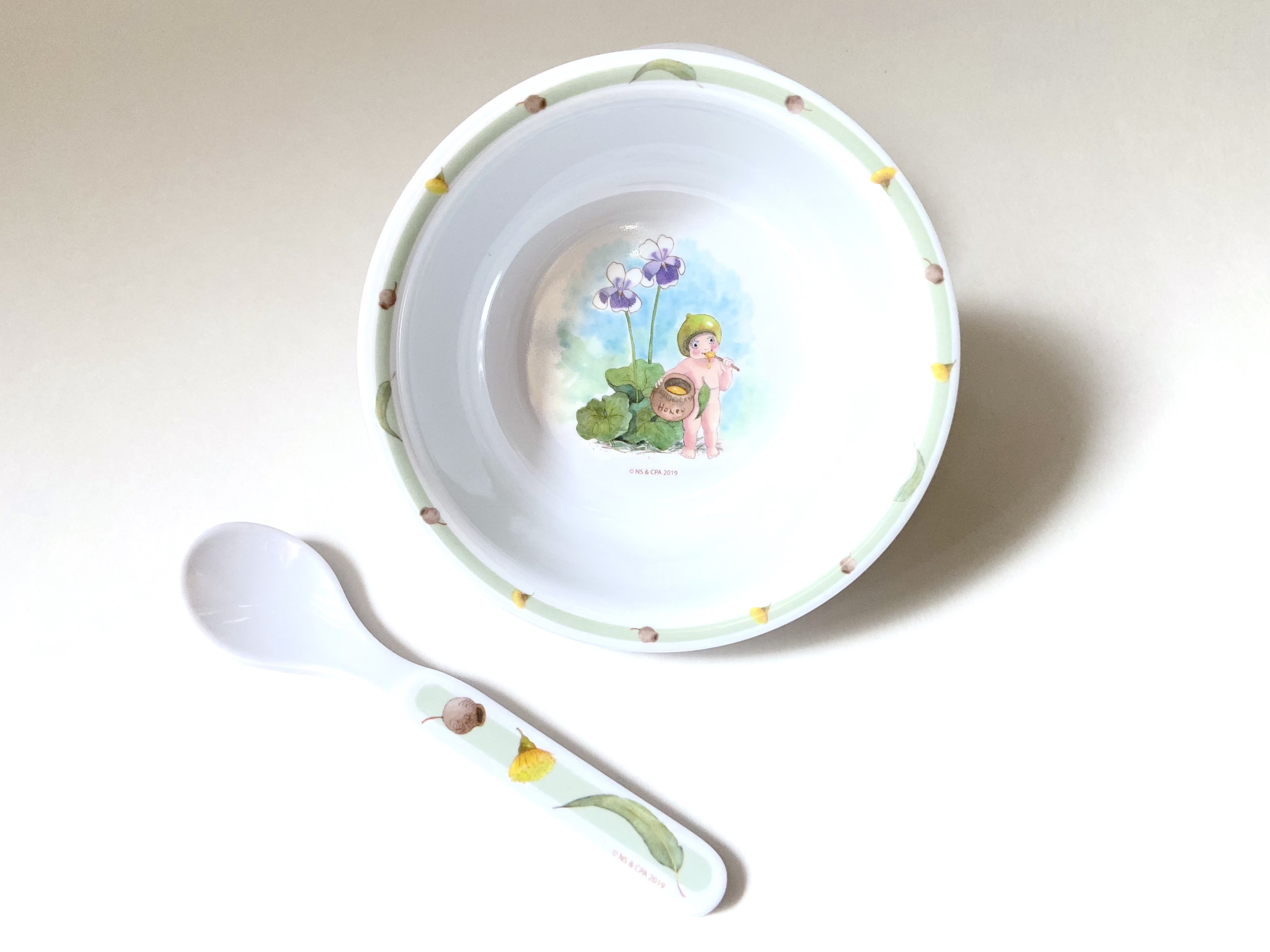 Bowl and Spoon Set