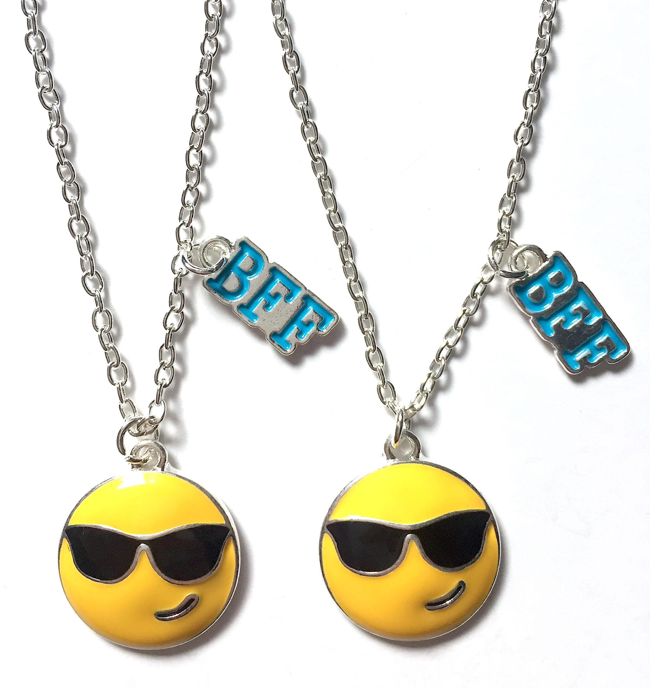 Emoji BFF Necklaces
