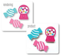 Candy Eraser Rendering