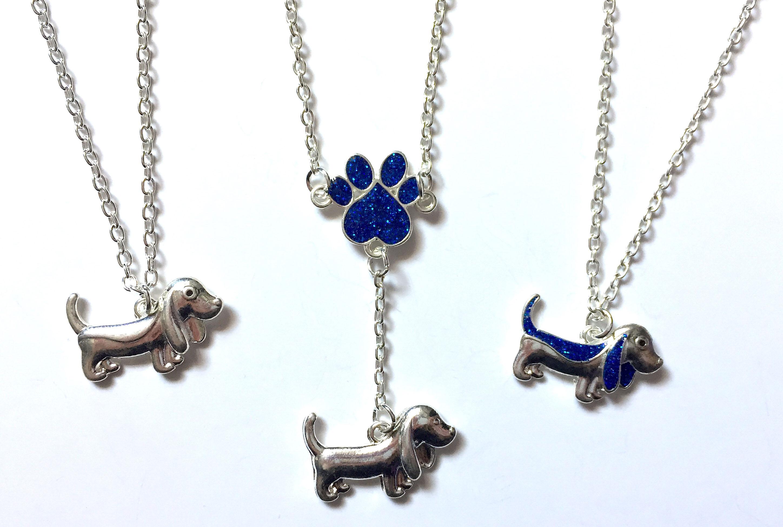 Puppy Necklaces