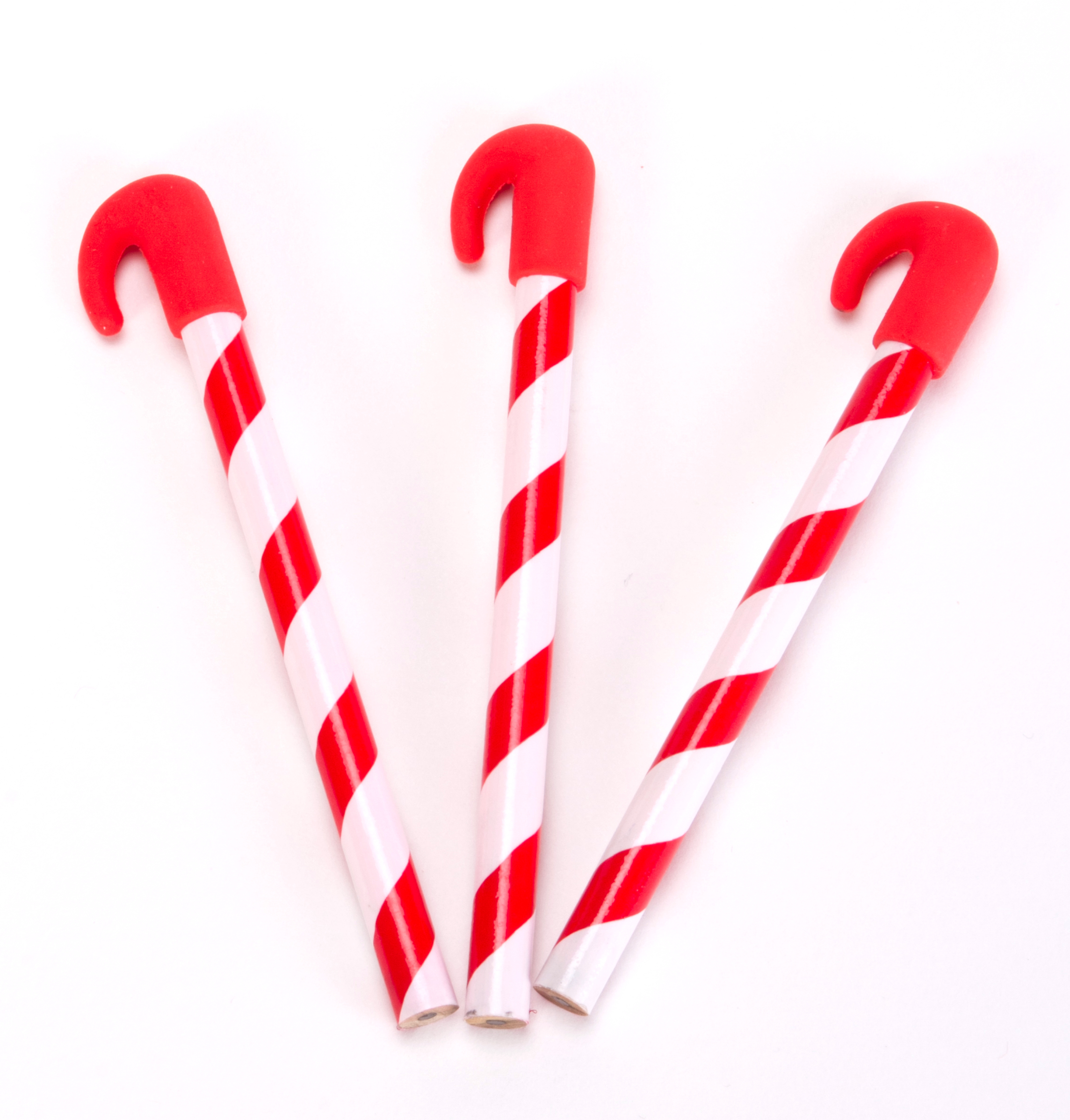 Mini Candy Cane Pencils