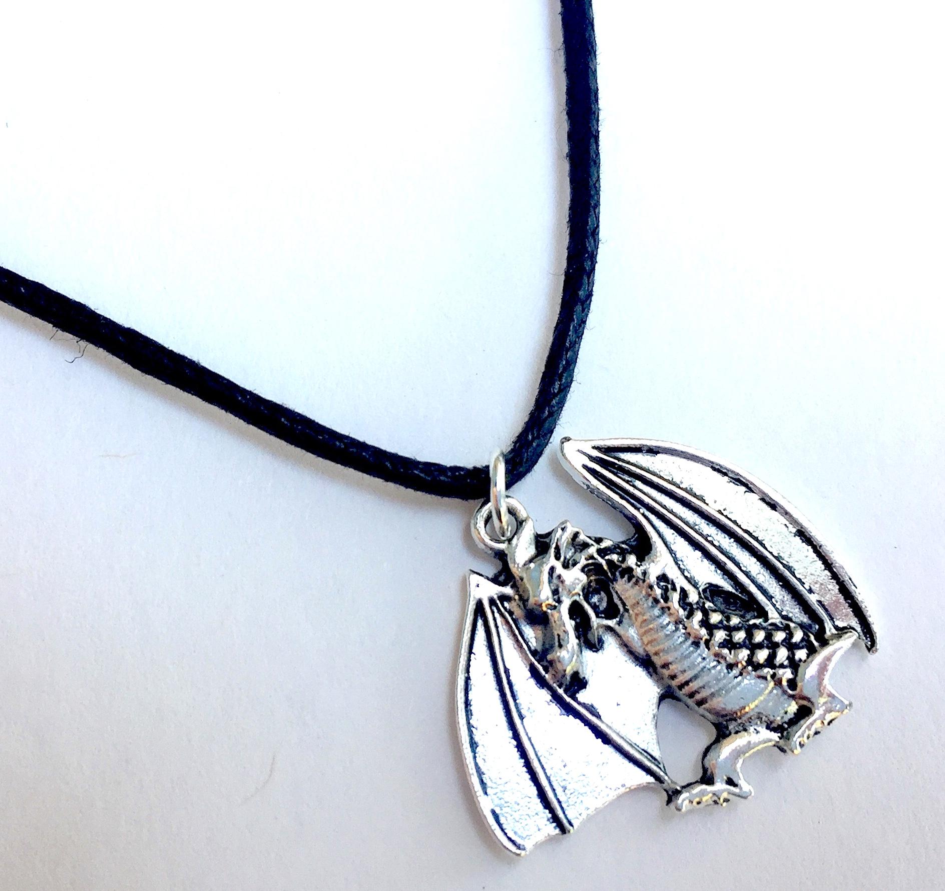 Fiery Dragon Necklace