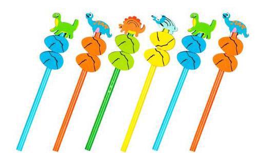 Dino Pencils