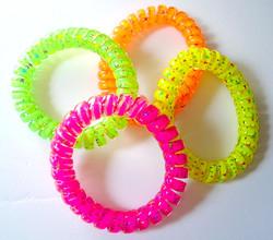 Neon Coil Bracelets