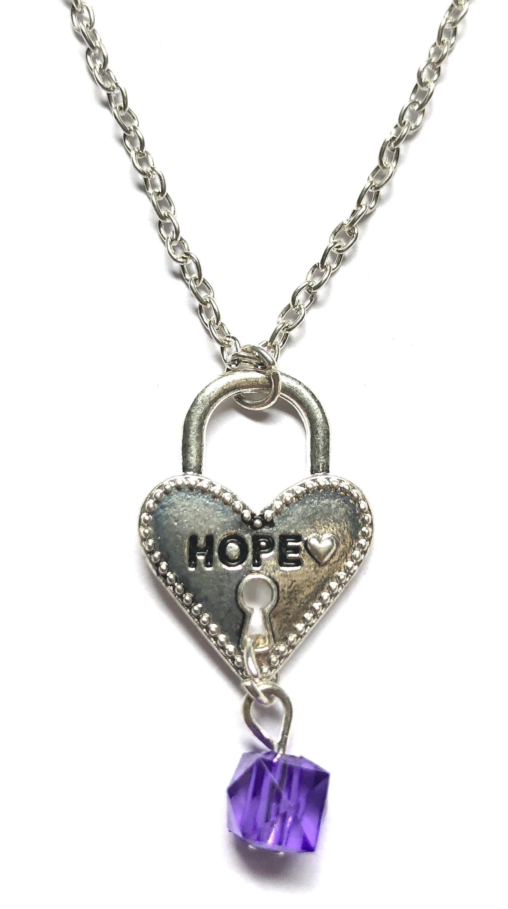 Hope Heart Necklace