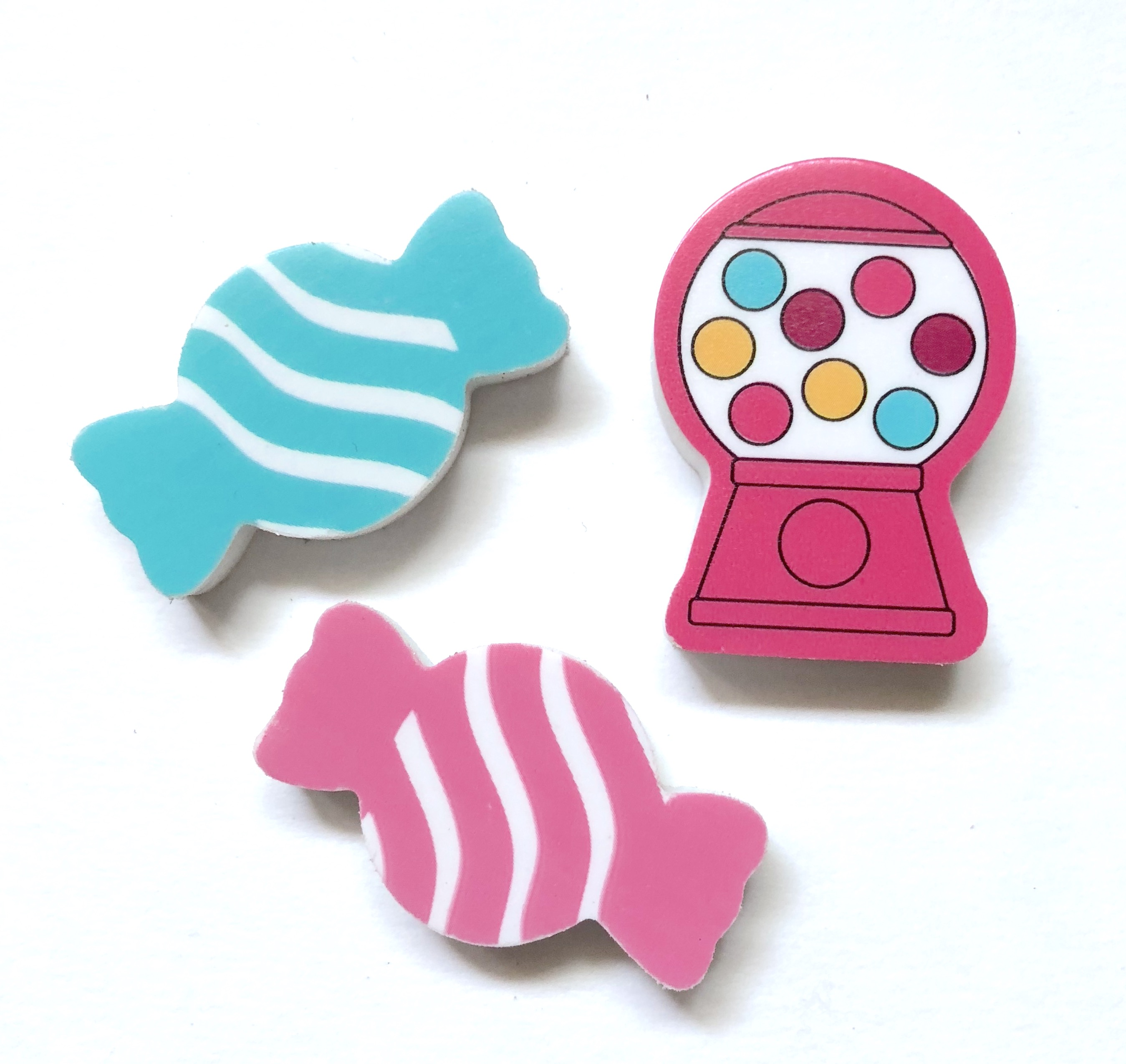 Candy Eraser Set
