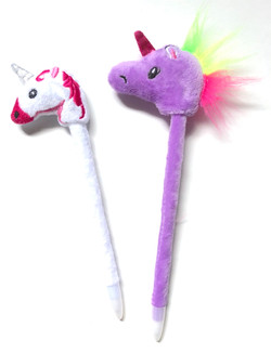 Plush Unicorn Pens