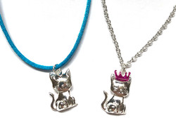 Royal Kitten Necklaces