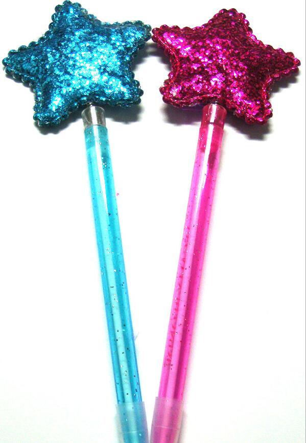 Sequin Star Pens