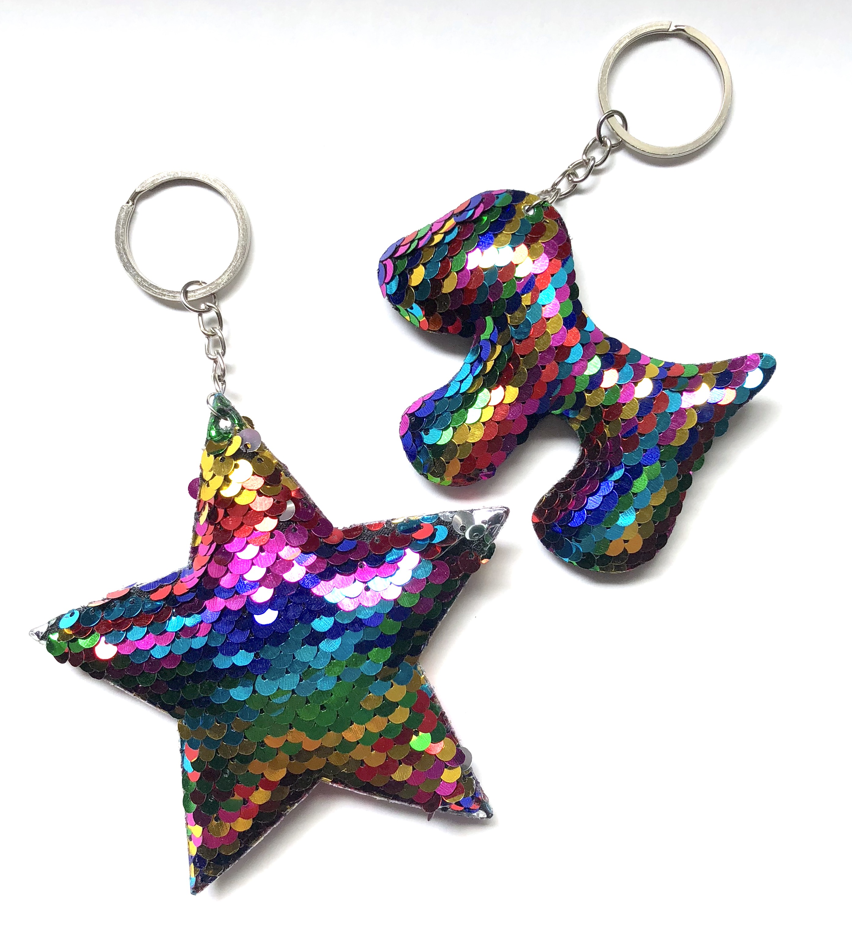 Magic Sequin Keychains