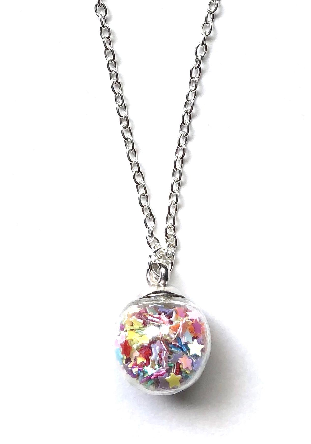 Star Globe Necklace