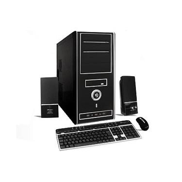 Procesador Intel Core I3 - Memoria 4GB  Disco 320/500 GB – Audio, Video y Red – Grabadora DVD  Teclado + Mouse Optico