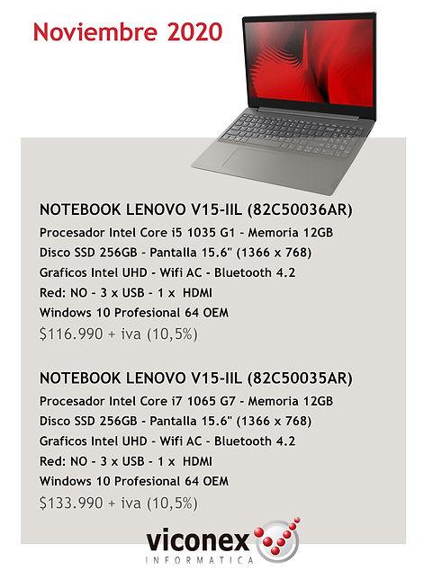 Promo Notebooks Lenovo CON FECHA nov 202