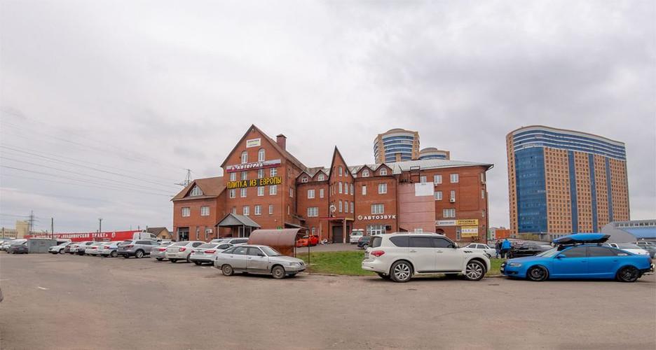 Здание на Горьковском шоссе