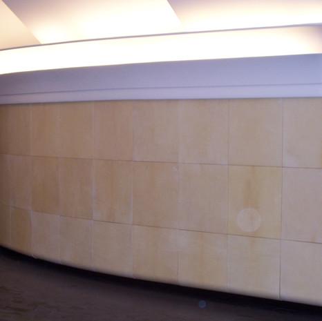 Panneaux de parchemins. Galerie Rocabella, Monaco. Par  nos soins