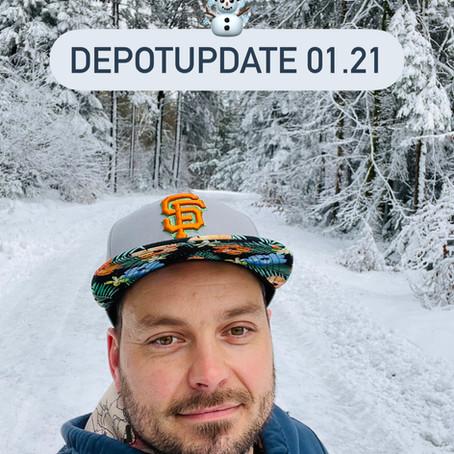 Depotupdate 01.21