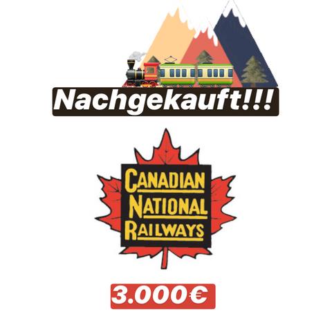 Meine kanadische Eisenbahn ist fertig gekauft...