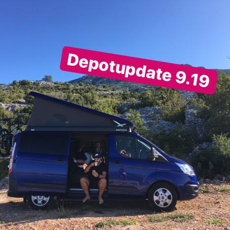 Depotupdate 9.19