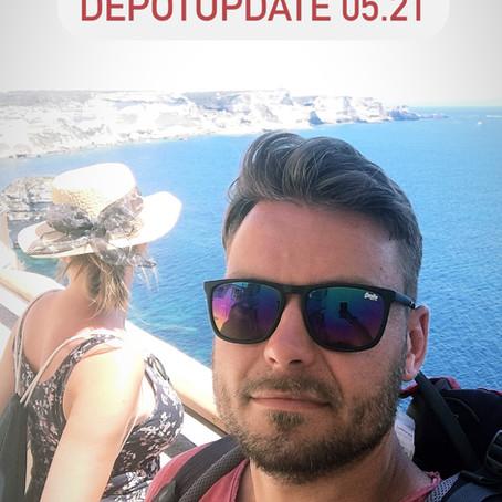 Depotupdate 05.21