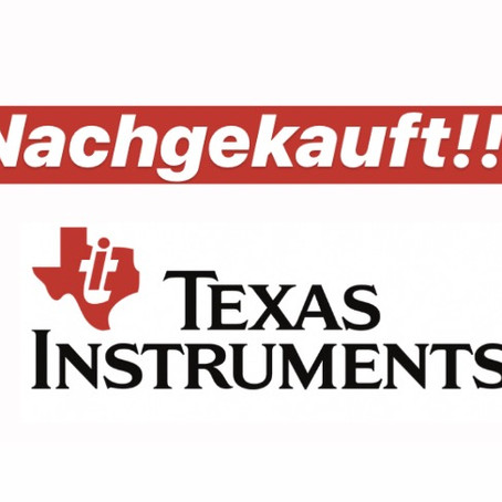 Texas Instruments...