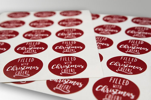 Christmas Labels (Christmas Cheer)
